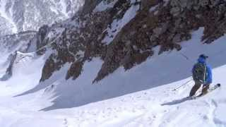雨飾山 荒菅沢スキー20140329