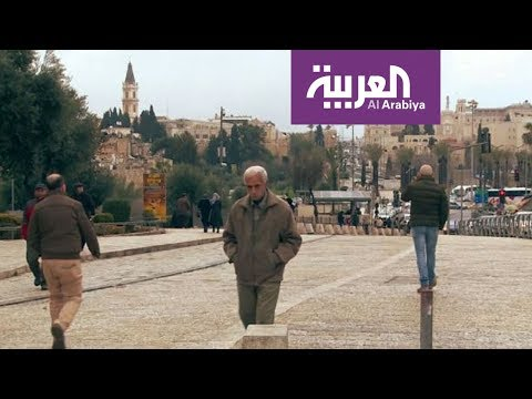 العرب اليوم - شاهد:  شارع السلطان سليمان المحاذي لأسوار القدس القديمة