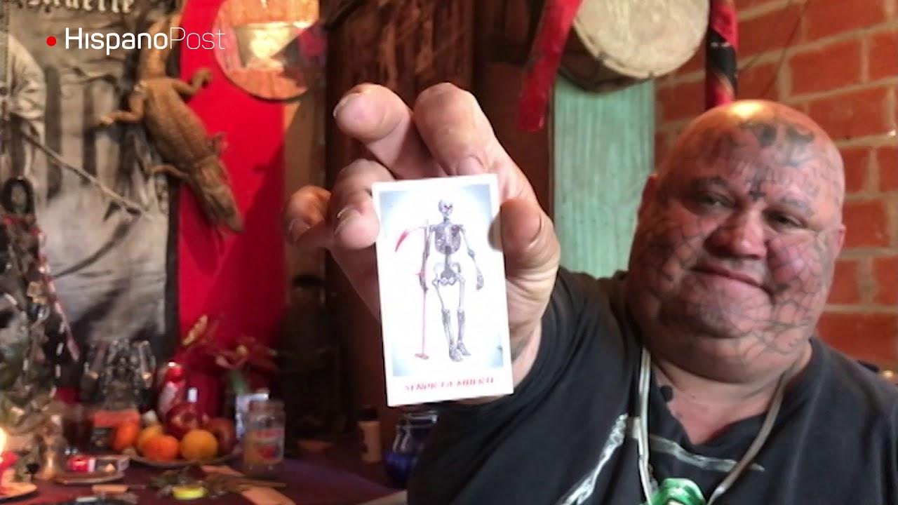 """""""El gordo Tinelli"""" adora en cuerpo y mente a San La Muerte"""