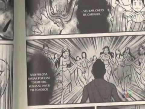 A História de Buda em mangá apresentada na TV Nikkey