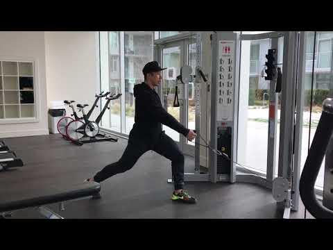 #AskKenneth | Single Arm Cable Split Squat 箭步