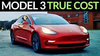 TRUE Cost of a Tesla Model 3 After 40,000 Miles!
