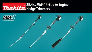 "MAKITA 24"" 25.4 cc MM4® Double-Sided Hedge Trimmer - Thumbnail"