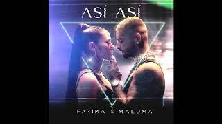 Farina & Maluma   Así Así (Audio)
