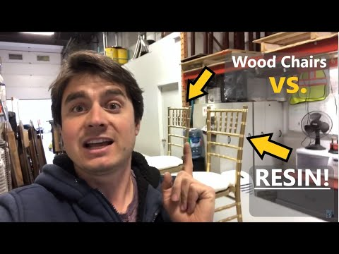 Wood vs. Resin Chiavari Chairs | Let's Compare Them!