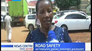 NTSA conducts a surprise crackdown along Kisii - Keroka road leaving several passengers stranded