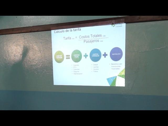 Explicación sobre propuesta de rebaja a empresa Conatra