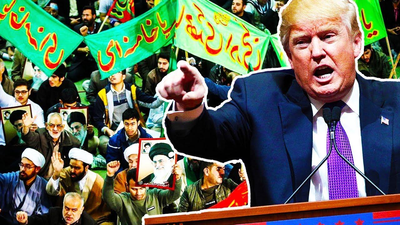 Trump On Iran Protests thumbnail