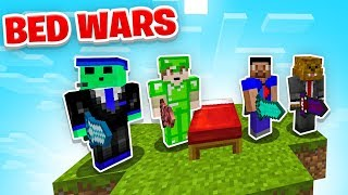 MODDED BED WARS in Minecraft with The Pack + Pete