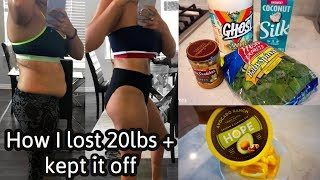 WHAT I EAT IN A DAY TO LOSE WEIGHT | EASY HEALTHY MEALS