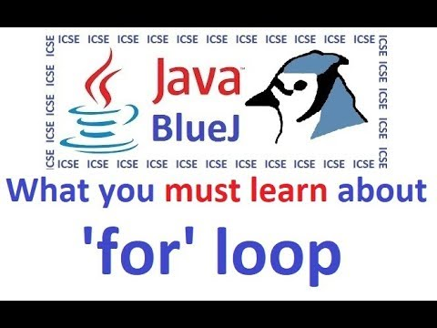 Java 'for' Loop Advanced Level - Explained And Demonstrated