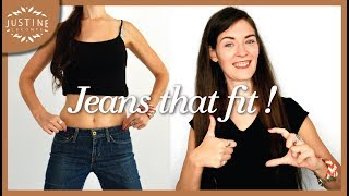 How to find the perfect jeans for your body type | Basic wardrobe | Justine Leconte