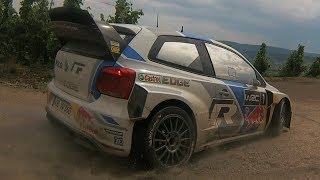 preview picture of video 'Sébastien Ogier Test WRC Rallye Deutschland 2014 [HD] | Volkswagen Polo R WRC'