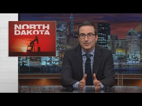 Ropa v Severní Dakotě