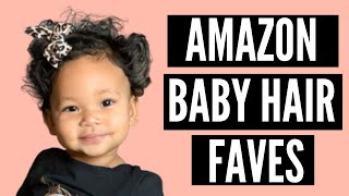 Amazon Baby Girl Hair Accessories Faves | Bows, Headbands, + Turbans | Cute + Affordable!