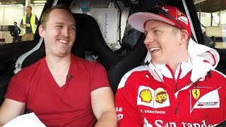 My Awkward Interview With Kimi Räikkönen by Car Throttle