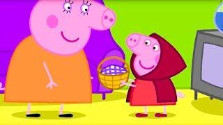 Свинка Пеппа на русском все серии подряд | Пеппа играет в театре | Мультики