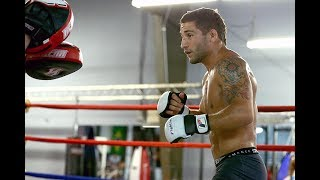 A Day With UFC Fighter Chad Mendes . Training | Eating | Sparring | Intense Workout 2017 |