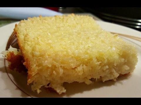 Video Incredible Coconut Custard Cake Recipe (step by step)