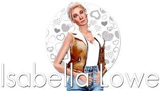 סרטון סימית חדש - The Sims 4 CAS - Isabella Lowe