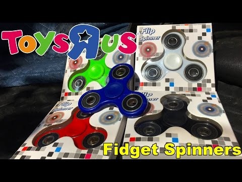 Toys R Us Fidget Spinner Unboxing, Review, and First Giveaway