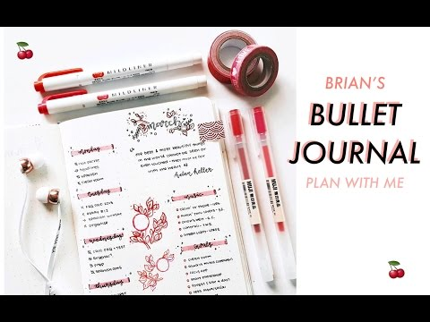 Plan With Me #3: Bullet Journal