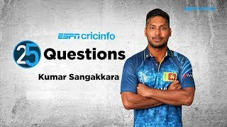 25 Questions with Kumar Sangakkara