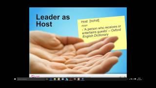 Host leadership in education: Webinar