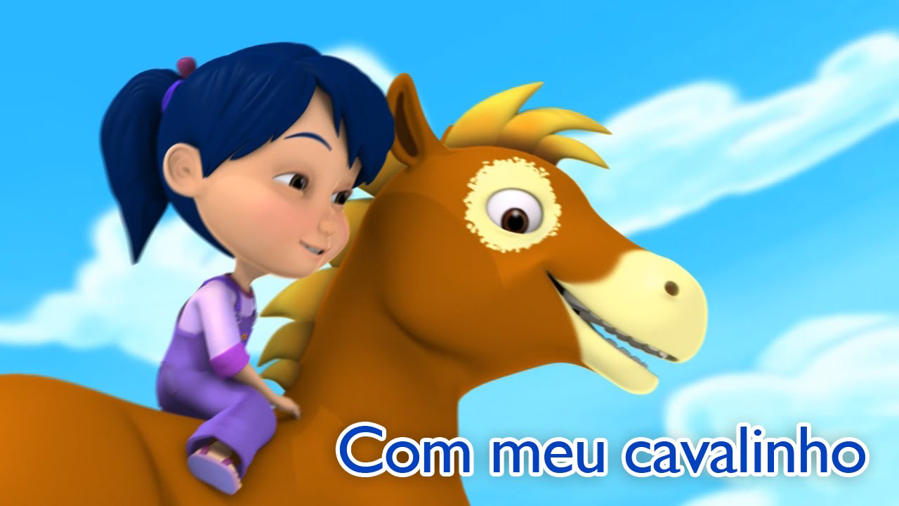 Com meu cavalinho Karaoke en portugués - Con mi caballito