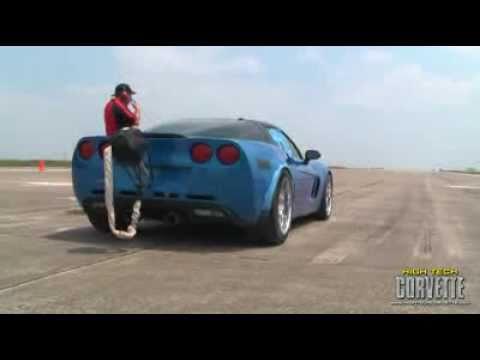231mph TT Corvette - The Texas Mile - May 2011