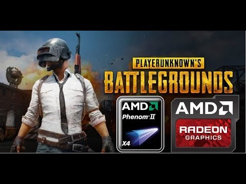 PLAYERUNKNOWN'S Battlegrounds (HD 7850/R7 265/R7 370 | Phenom II X4) [Low*]