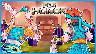 WILDCAT & Moo BREACH the CASTLE in For Honor! (For Honor: Marching Fire Funny Moments Gameplay)