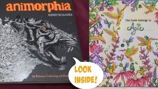 Animorphia Adult Colouring Book Flip Through
