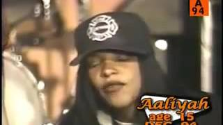 "Aaliyah - ""Back And Forth & Interview"" (Live)"