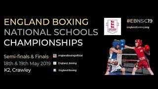 England Boxing National Schools Championships 2019 - Day 2 Ring C
