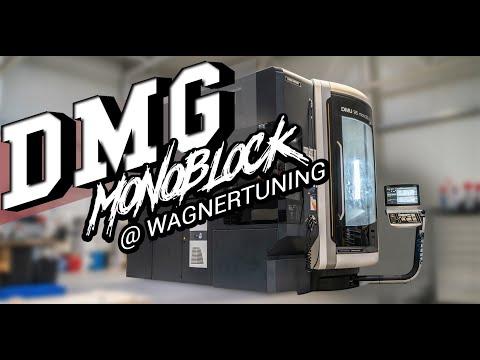 Wagner Tuning - DMG Mori - DMU 95 monoBlock - Ladeluftkühler-Endkastenbearbeitung bei WAGNERTUNING