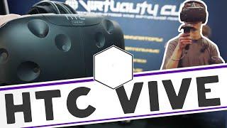 Обзор шлема виртуальной реальности HTC Vive в Virtuality Club