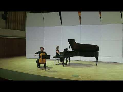 S. Rachmaninov, Sonata for Piano and Cello in G Minor, Op. 19, III Seungsei Kim, cello