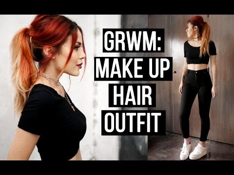 GRWM - Summer Night Out (MAKE UP, HAIR , OUTFIT!)