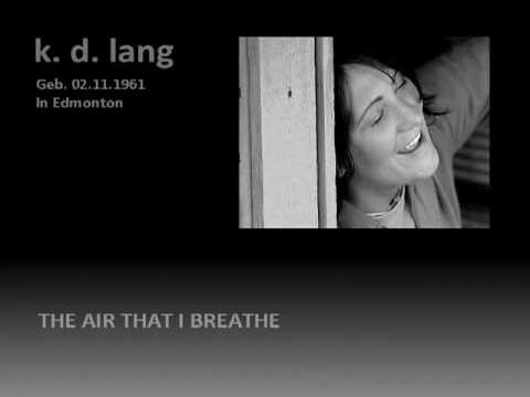 Kd Lang The Air That I Breathe Chords