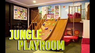 Kids Playroom Makeover | Jungle Playroom