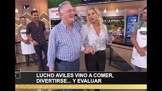 Lucho Avilés Fue El Gran Jurado Del Día Y Le Trajo Una Sorpresa A Juan Marconi