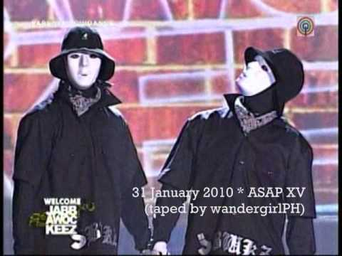 Jabbawockeez on ASAP (1) Jan 31 2010