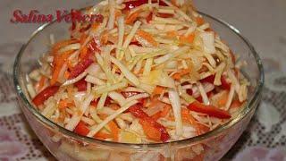 Смотреть онлайн Свежий диетический салатик