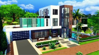 The Sims 4 || Speed Build || L.A Hidden Hills Mansion