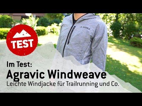 Im Bergfreunde-Test: Die Agravic Windweave Jacket von adidas