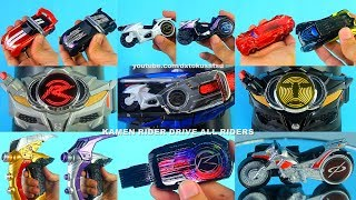 Kamen Rider DRIVE ALL RIDERS オールライダー 仮面ライダードライブ  DXドライブドライバー マッハドライバー炎 가면라이더 드라이브