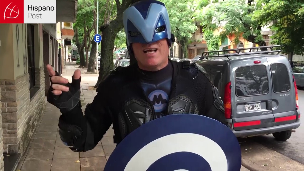 """""""Menganno"""", vecino y superhéroe"""