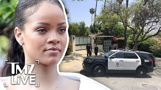 Rihanna Intruder Broke In To Sleep With Her | TMZ Live - Video Youtube