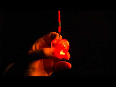 LED Halsketting hart 32